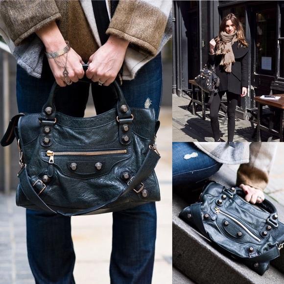 834f5a9ff9 Balenciaga Handbags - Balenciaga Giant 12 Rose Gold City